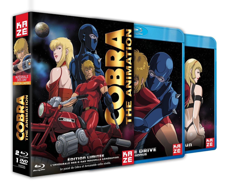 Coffret Blu-ray : Cobra The Animation - Intégrale OAV