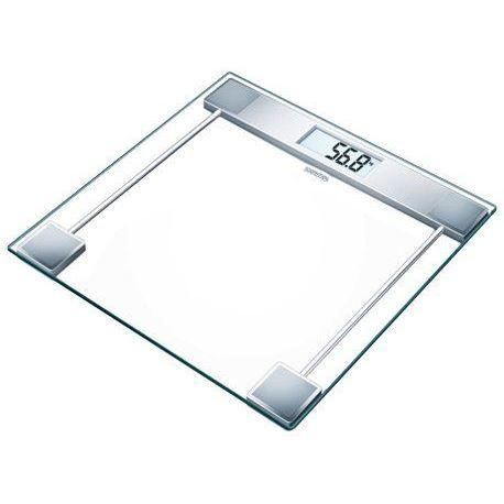 Pèse-personne en verre Sanitas 755.19