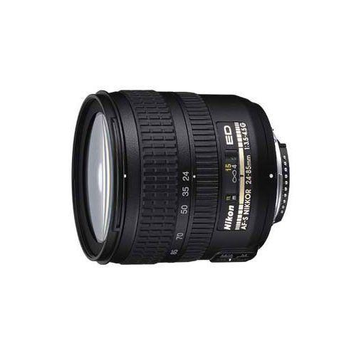 Objectif Nikon AF-S Nikkor 24-85mm f3.5-4.5 G ED VR pour format FX (utilisable sur DX)