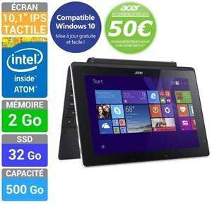 Tablette Acer Switch SW3-013-11YM - Atom Z3735F, 2 Go de Ram, 32 Go SSD