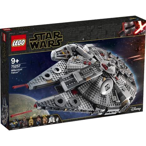 Jeu de construction Lego Star Wars: Le Faucon Millenium 75257 (Via 30€ sur la carte)