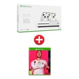 Console Microsoft Xbox One (1 To) + Manette supplémentaire + FIFA 20