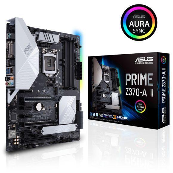 Carte mère ASUS Prime Z370-A II - ATX, socket 1151