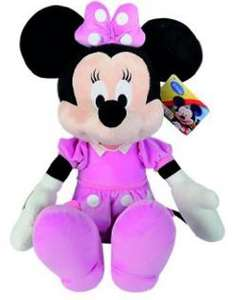 Peluche Disney Mickey Mouse Club House Core - Minnie, 61cm