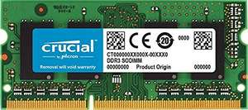 Barrette Mémoire DDR3 Crucial CT102464BF186D 8Go - 1866 MT/s, PC3-14900, SODIMM 204-Pin (Vendeur tiers)