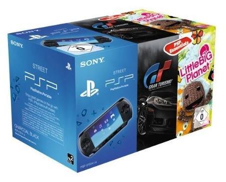 Console Sony PSP E-1000 + Gran Turismo Essentials + Little Big Planet (Frais de port: 22€)