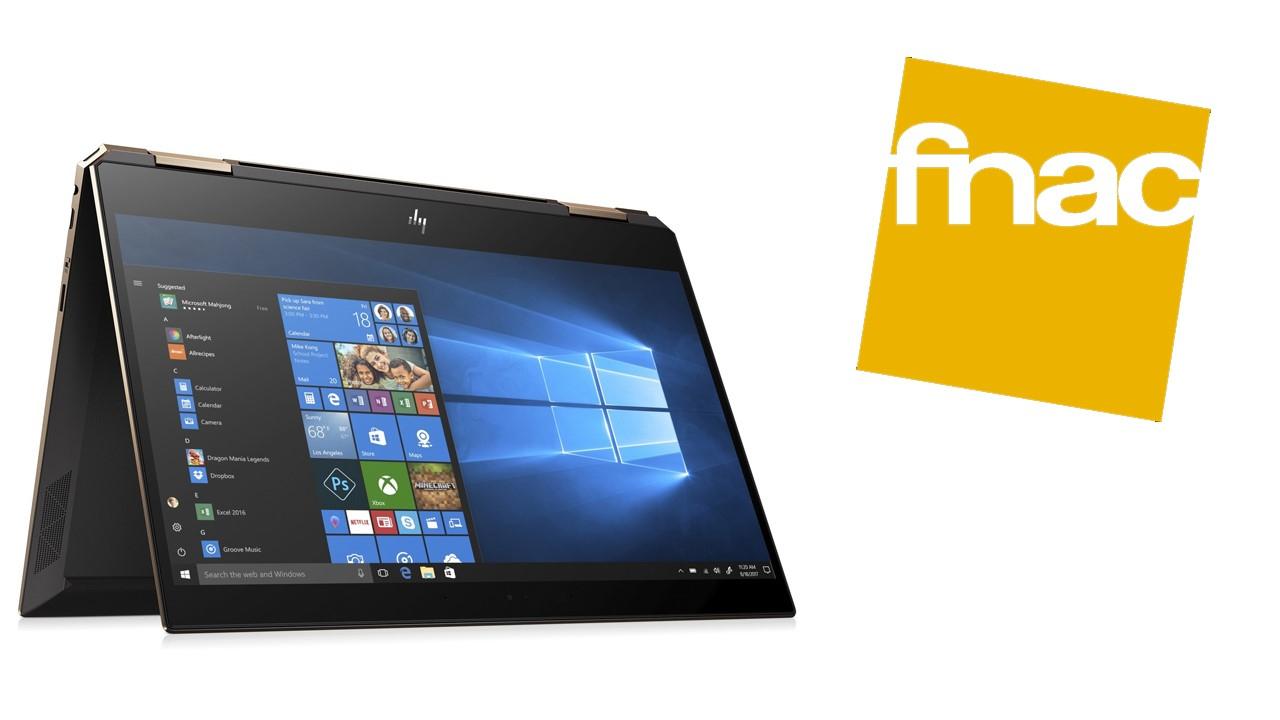 Jusqu'a 30% de remise sur la gamme HP Spectre x360 chez Fnac (exemple avec le PC Portable HP Spectre x360 15-df0002nf)