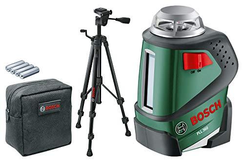Niveau Laser Lignes à 360 Bosch Pll 360 Set Avec