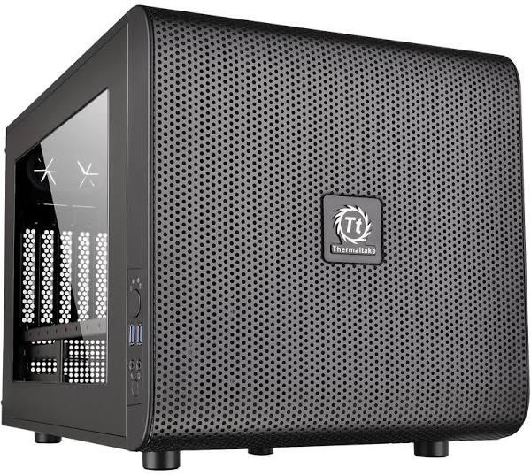 Boîtier PC Thermaltake Core V21 noir (51.99€ via WELCOMESEP) - vendeur Carrefour