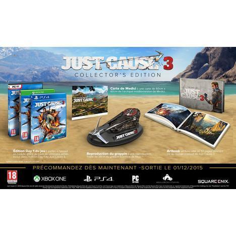 Précommande: Just Cause 3 - Edition Collector sur Xbox One et PS4