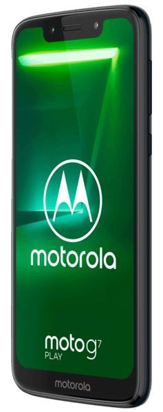 "Smartphone 5.7"" Motorola Moto G7 Play - HD, 2 Go RAM, 32 Go, Android 9.0, Deep Indigo (Frontaliers Allemagne)"