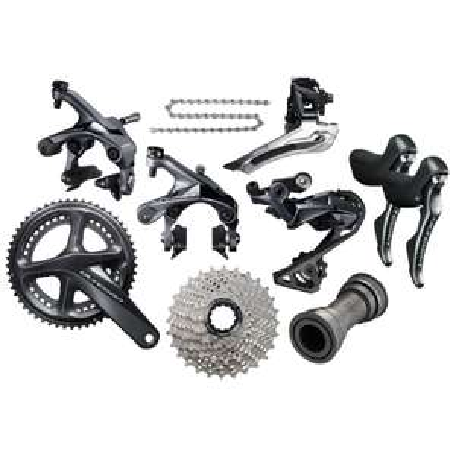 Groupe mecanique complet pour Vélo Shimano Ultegra R8000 - Frein sur jante