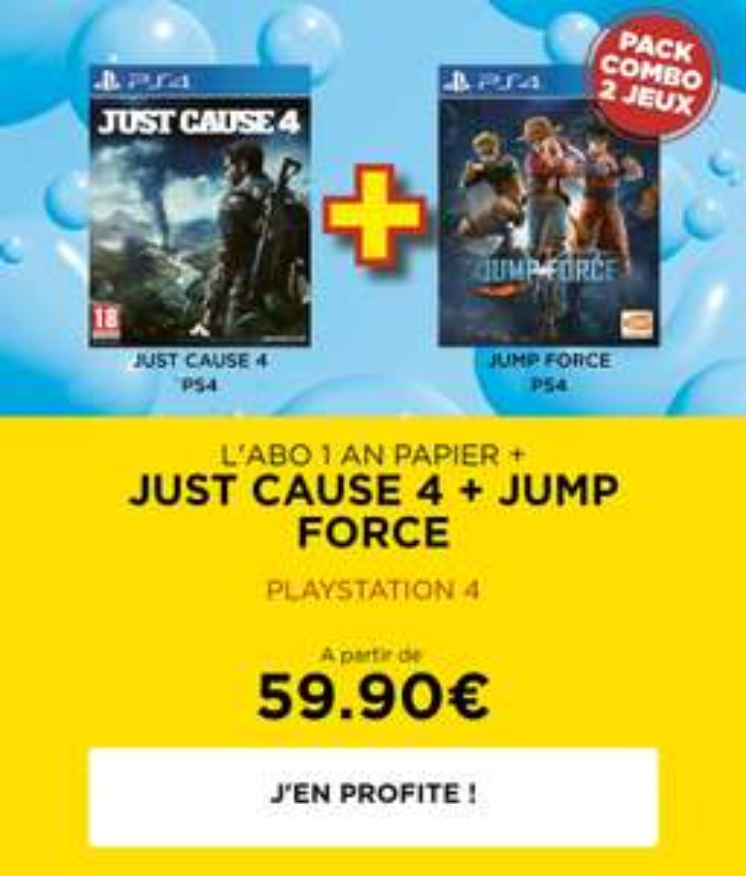Abonnement Jeux Vidéo Magazine - 1 An + 2 Jeux au choix sur PS4 (jeuxvideomagazine.com)