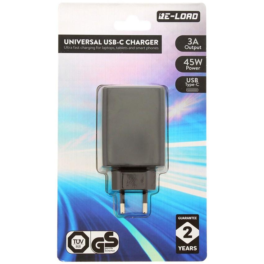 Chargeur Secteur USB-C Re-Load