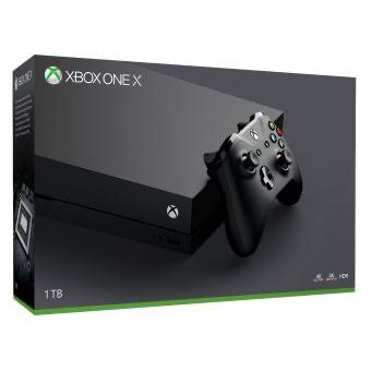 Pack Console Xbox One X - 1 To + NBA 2K16 Edition Spéciale Michael Jordan