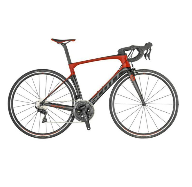 Vélo Scott Foil 30 2019 Aero Road Bike Red/Black