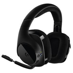 Casque Gaming sans fil Logitech G533 - DTS 7.1 Son Surround, Noir