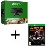 Console Xbox One 1 To + Fallout 4 & 3 + Call of Duty : Black Ops 3  (+50€ à dépenser dans le rayon jeux-vidéo)