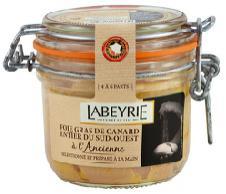 Foie Gras entier labeyrie (11,87€ sur la carte)