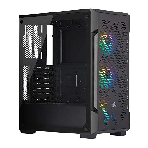 Boitier PC Gaming Corsair iCUE 220T RGB Airflow - Verre Trempé - Noir