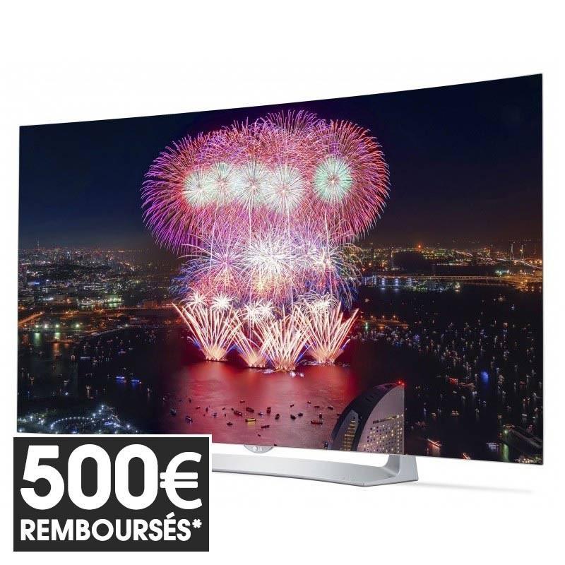 """TV 55"""" LG 55EG910V - Oled - full HD - Curved (ODR 500€)"""