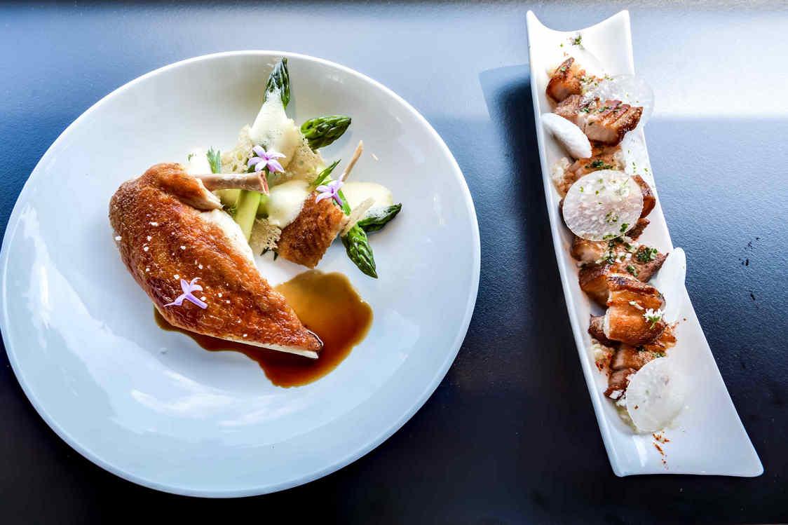 Menu déjeuner : Entrée + plat + dessert au restaurant Péniche Bistrot Alexandre III - pour 2 personnes - Paris (75)