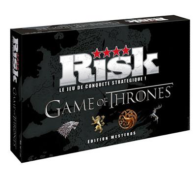 Jeux de société en promotion - Ex: Risk Game Of Thrones
