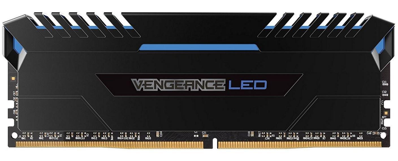 Kit Mémoire RAM Corsair Vengeance LED 32 Go (4 x 8 Go) - 3200 MHz, DDR4, CL16, XMP 2.0