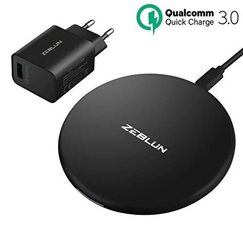 Chargeur sans fil Induction Zeblun + Adaptateur - QC 3.0 (vendeur tiers)