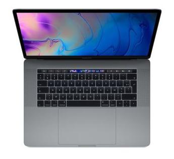 "PC portable 15.4"" Apple MacBook Pro Touch Bar (2019) - WQXGA+, i9 (2.3 GHz), Radeon Pro 560X, 16 Go de RAM, 1To SSD"
