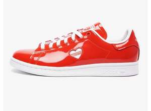 Sneakers Femme Adidas Stan smith - Coloris red