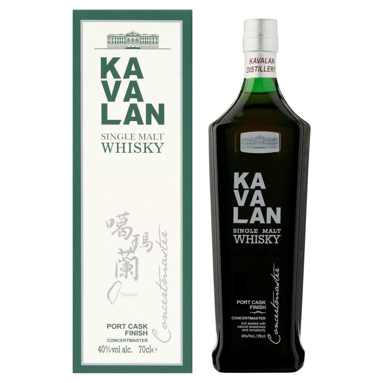 1 Bouteille de Whisky Taïwanais Kavalan - 70Cl