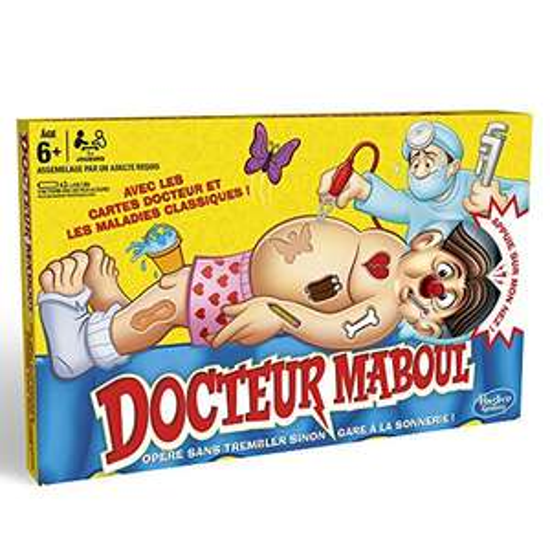 Jeu de Société Hasbro - Docteur Maboul