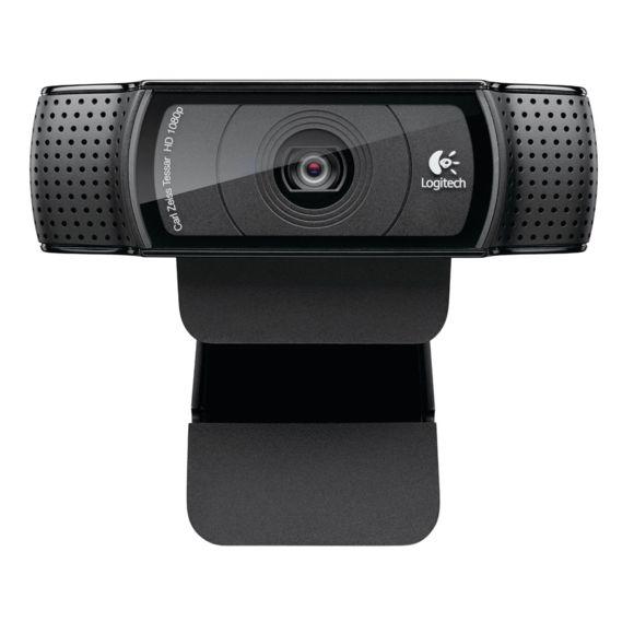 Webcam Logitech HD Pro C920 Refresh - Noir (Vendeur Tiers)