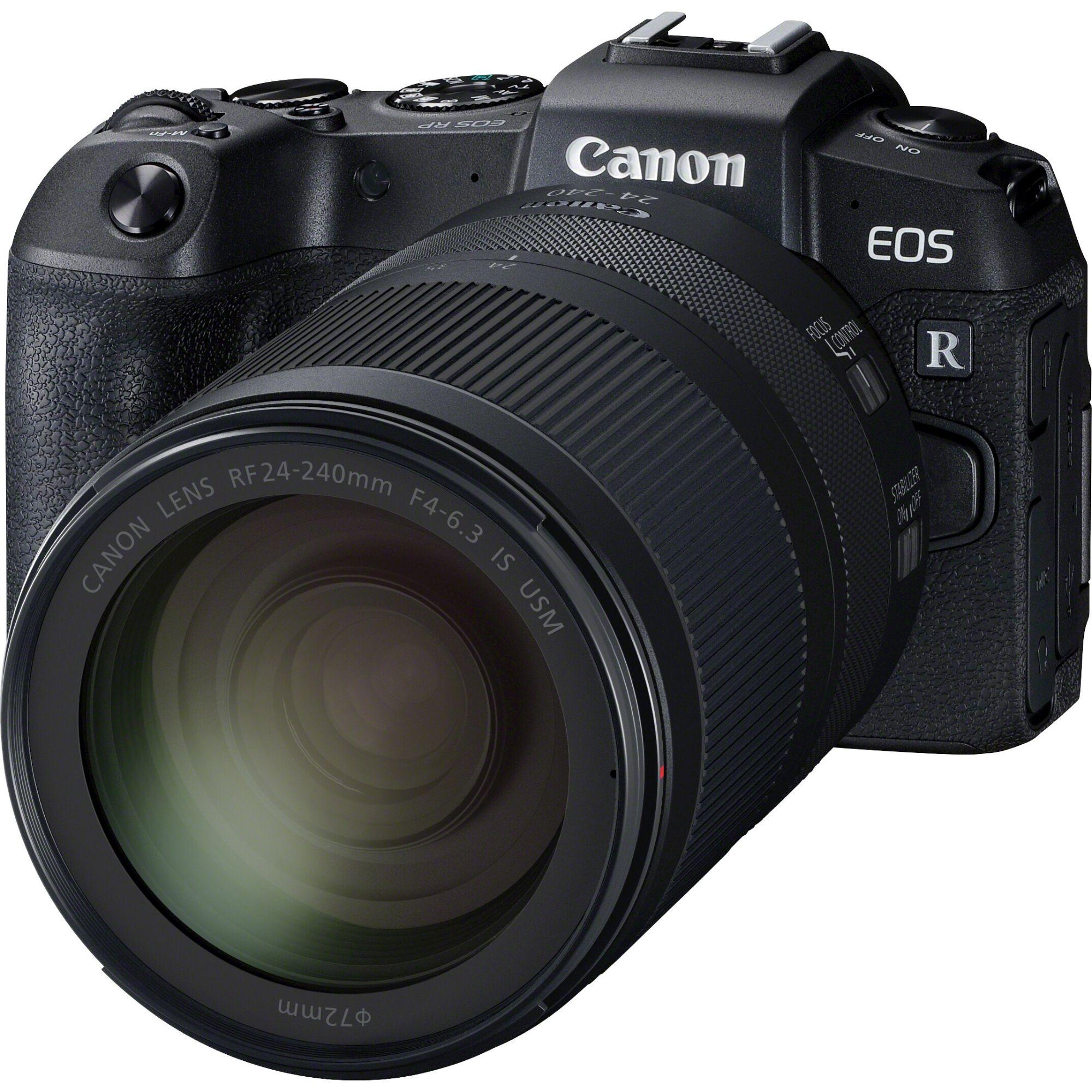 Appareil photo Reflex Canon EOS RP + Objectif RF 24-240 mm f/4-6.3 IS USM (+79.90€ en SuperPoints)