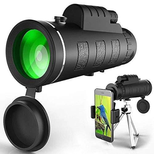 Téléscope monoculaire JD9 - 40x60, avec Clip pour téléphone et trépied (Vendeur tiers)
