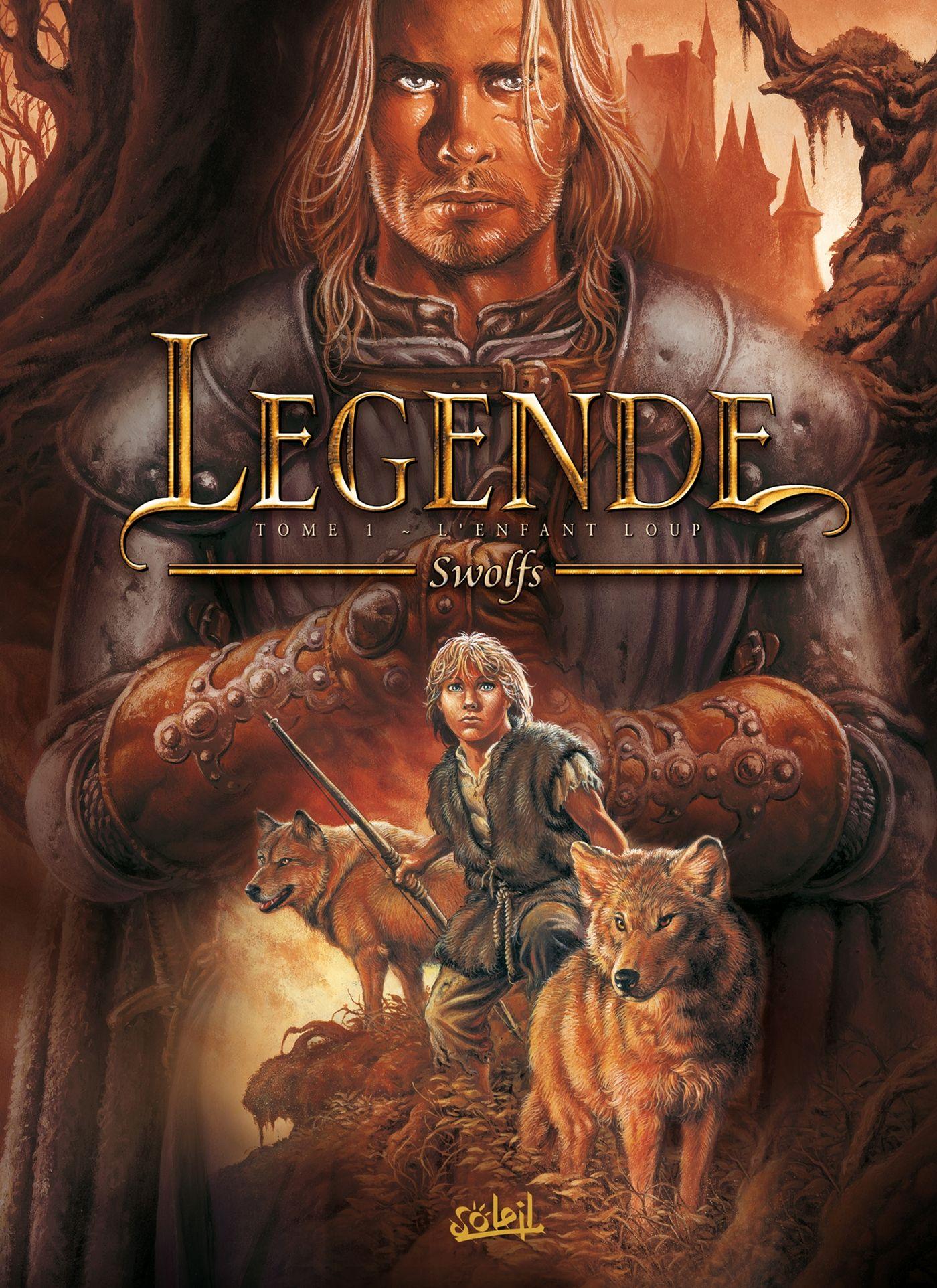 BD gratuite Legende Tome 1 - L'enfant Loup (Dématérialisé)
