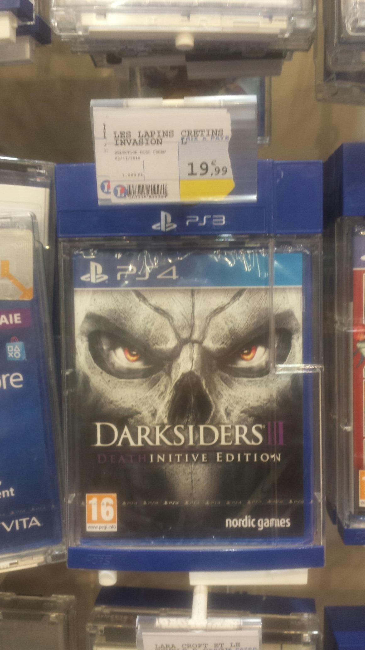Jeu Darksiders 2 sur PS4 - Deathinitive edition