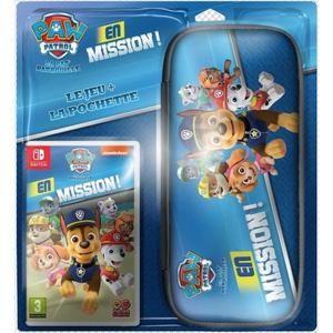 Jeu Pat'Patrouille en mission + pochette pour Nintendo Switch