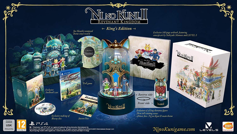Ni No Kuni II: Revenant Kingdom Kings Edition sur PS4