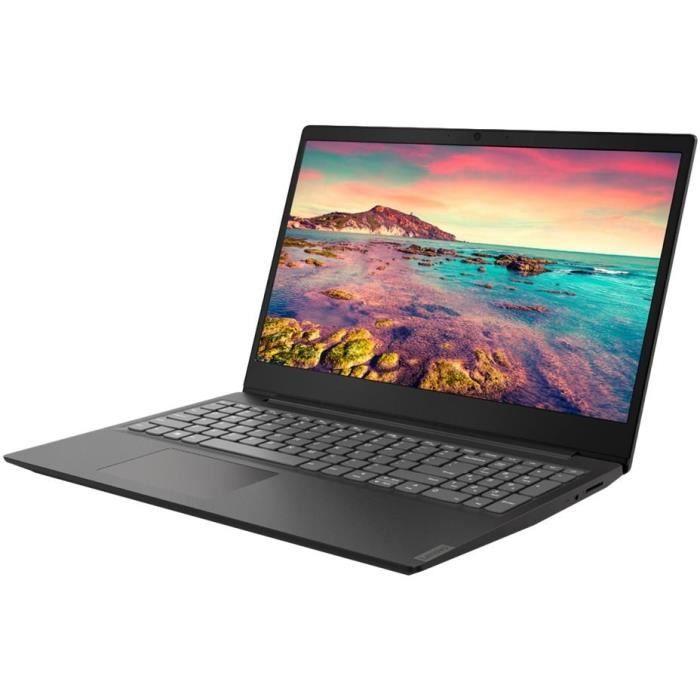 "PC Portable 15.6"" Lenovo Ideapad S145-15IWL - Full HD, i3-8145U, RAM 4Go, SSD 128Go, Windows 10S"