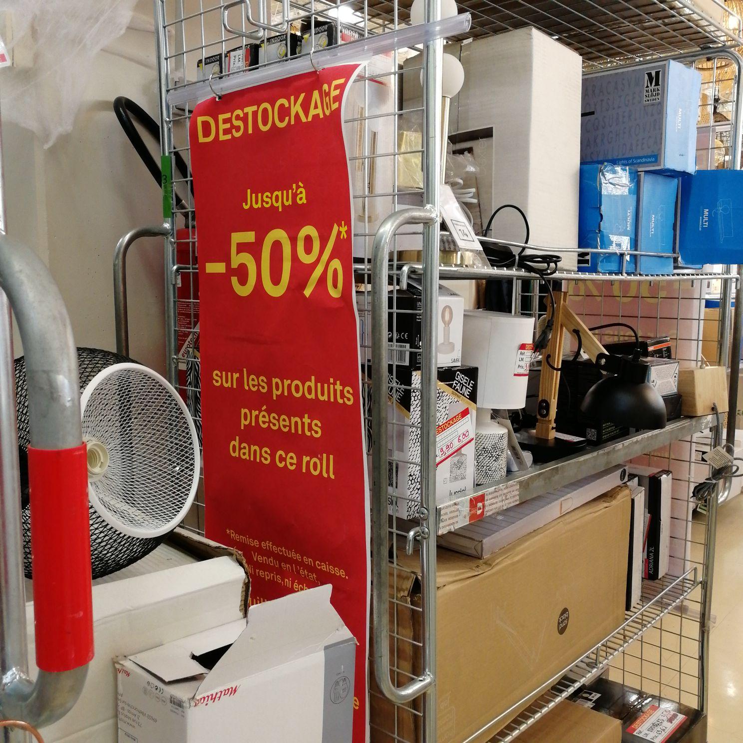 Jusqu'à 50% de réduction sur les Appliques, ampoules et plafonniers (Collégien 77)