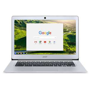 "PC Portable 13,9"" Acer Chromebook CB3-431 - Intel Celeron, 4 Go de RAM, 32 Go eMMC, Intel HD Graphics, OS Chrome)"