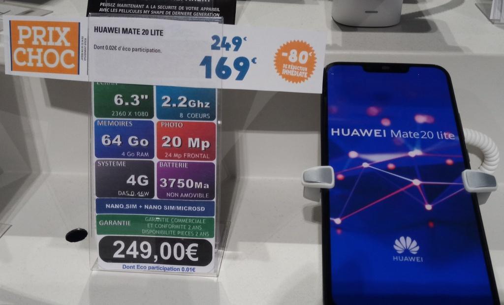 Smartphone Huawei Mate 20 Lite - 64 Go (Blagnac 31)