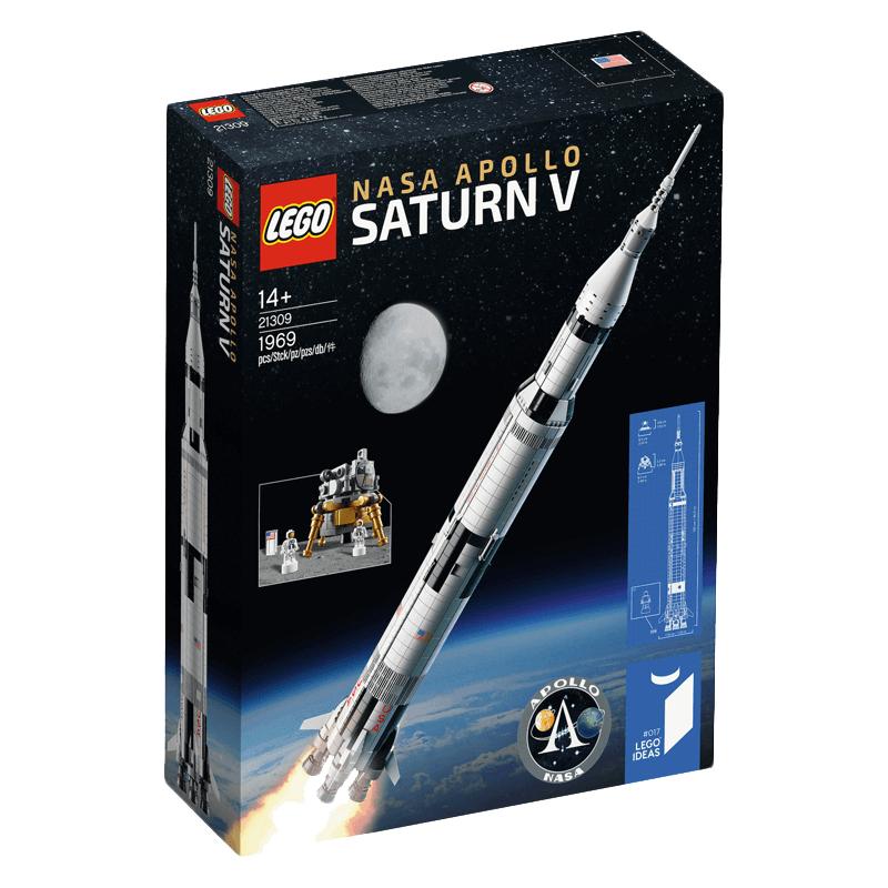 Jouet Lego NASA 21309 - Apollo Saturn V + Bon d achat de 24€ + Bon d achat de 25€ (valable dès 60€ d'achat)