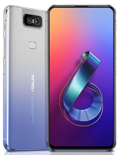 "Smartphone 6.4"" Asus Zenfone 6 - Full HD+, SnapDragon 855, 6 Go RAM, 64 Go ROM"