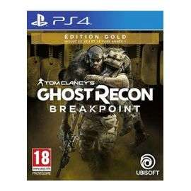 Tom Clancy's Ghost Recon : Breakpoint Edition Gold sur PS4 (+2.35 € offerts en SuperPoints)