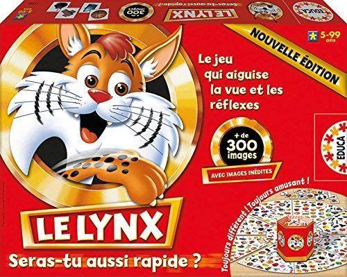 Jeu de Société Éducatif - Le Lynx 300 Images