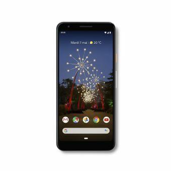 "Smartphone 5.6"" Google Pixel 3a (full HD+, SnapDragon 670, 4 Go de RAM, 64 Go) + Passerelle multimédia Google Chromecast offerte"
