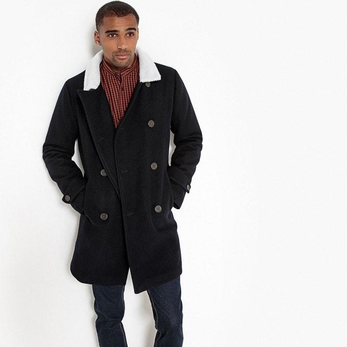 Caban Homme Drap de laine (Bleu marine) - Tailles XL à 3XL